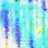 O fundo abstrato fraturou o roxo do azul de turquesa do aqua da textura Fotografia de Stock
