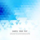 O fundo azul do mosaico da grade, moldes criativos do projeto Vector eps10 Fotografia de Stock