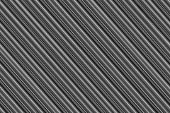 O fundo com nervuras do cinza marcou o design web monocromático da base inclinado da lona das listras foto de stock