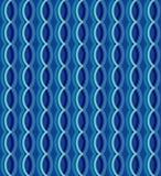 O fundo curvy da textura do teste padrão de ondas do vetor sem emenda geométrico Ilustração do gráfico de vetor , projeto do veto Foto de Stock