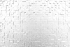 O fundo 3D abstrato expulsa estilo Fotografia de Stock