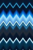 O fundo da arte abstrato do teste padrão de ziguezague de Chevron, cor tende Crepúsculo da luz do carro do movimento, tom dramáti ilustração royalty free