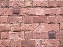 O fundo da parede de tijolo Imagem de Stock Royalty Free