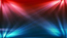 O fundo de HD Loopable com fase abstrata agradável ilumina-se ilustração stock