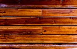 O fundo de madeira é marrom Imagem de Stock