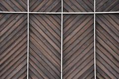 O fundo de madeira da parede olha como a tabela projetada Foto de Stock Royalty Free