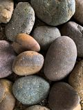 O fundo de pedra da textura da rocha fotografia de stock royalty free