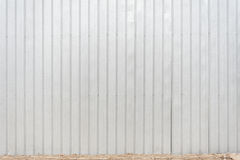 O fundo de prata da textura da parede do ferro cinzento Foto de Stock