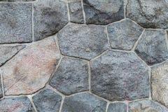 O fundo do cinza apedreja formas geométricas com linhas cinzentas Fotos de Stock