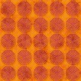 O fundo do Grunge com octógono baseou as formas do anel (sem emenda) Imagens de Stock Royalty Free