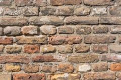 O fundo do grunge da textura da parede de tijolo vermelho, pode usar-se para o design de interiores fotografia de stock royalty free