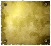 O fundo do pergaminho do parafuso isolou-se Imagem de Stock Royalty Free