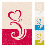 O fundo do Valentim Fotos de Stock Royalty Free