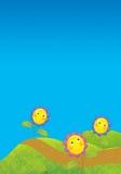 O fundo do verão Imagens de Stock