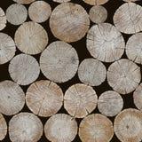 O fundo dos logs Imagem sem emenda Imagem de Stock