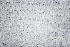 O fundo e a textura crus brancos modernos do muro de cimento do estilo do grunge Foto de Stock