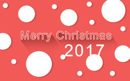 O fundo feliz do Feliz Natal ilustração royalty free