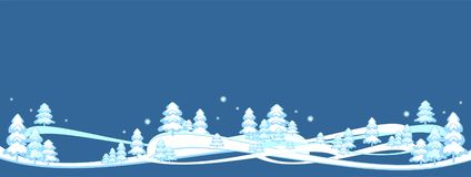 O fundo feliz do inverno, bandeira, Feliz Natal, árvore do ano novo, cartão, testes padrões projeta, novo, 2019 ilustração stock