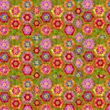 O fundo floral das crianças alegres Imagem de Stock