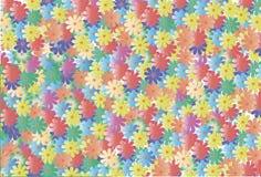 O fundo floral romântico cria um humor festivo Imagem de Stock Royalty Free