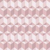 O fundo geomeric abstrato cora dentro cores cor-de-rosa Ouro milenar da rosa do rosa, textura de cristal ilustração royalty free