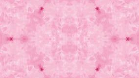 O fundo gosta da mancha de tinta test10 de Rorschach Tinta ou fumo cor-de-rosa fluorescente, isolada no preto no movimento lento  ilustração stock