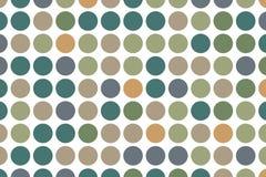 O fundo pontilhado com círculos, pontos, aponta a grande escala Projete o elemento para bandeiras da Web, cartazes, cartões, papé Fotografia de Stock Royalty Free
