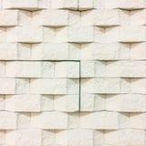 O fundo preto e branco da textura da parede de tijolo/tem-me ao floo Foto de Stock