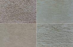 O fundo, rende, texture, grosseiro, quatro fotos 1 Foto de Stock