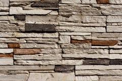 O fundo sem emenda de pedra da parede de tijolo - texture o teste padrão para o replicate contínuo fotos de stock royalty free