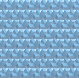 O fundo sem emenda geométrico abstrato branco 3D rende Foto de Stock