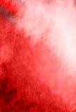 o fundo vermelho abstrato ou o fundo do Natal com o projector center brilhante e a vinheta preta limitam o quadro com grunge do vi Fotografia de Stock