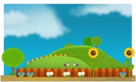 O funfair - campo de jogos para miúdos Imagem de Stock Royalty Free