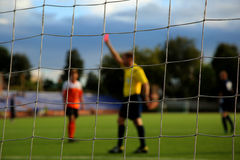 O futebol Foto de Stock Royalty Free