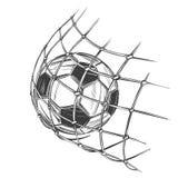 O futebol, bola de futebol, ostenta o jogo, sinal do emblema, esboço tirado mão da ilustração do vetor Fotos de Stock