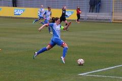 O futebol das mulheres Imagem de Stock