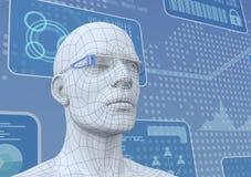 O futuro da Web Imagem de Stock