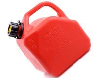 O gás vermelho pode Fotos de Stock Royalty Free