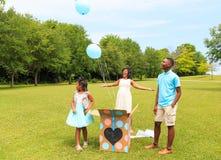 O gênero revela a liberação de Baloon Imagem de Stock
