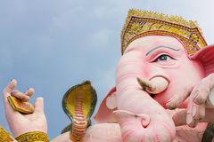 O Ganesha o mais grande em Tailândia Imagens de Stock Royalty Free