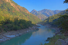 O Ganges Foto de Stock