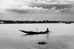 O Ganges River fotografia de stock royalty free