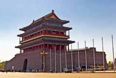 O Gatehouse de Zhengyangmen. imagens de stock