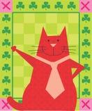 O gato quer abraçar Foto de Stock Royalty Free