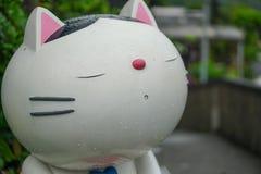 O gato só Fotografia de Stock