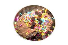O gelado no metal retro rola a criativo para o projeto foto de stock royalty free