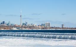 O gelo de Toronto acena 1 fotografia de stock