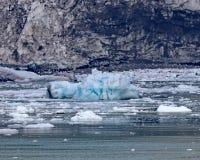 O gelo flutua Alaska dentro da passagem fotos de stock royalty free