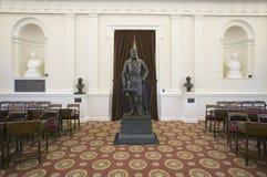 O general de bronze Robert E. Lee Fotos de Stock Royalty Free
