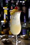 O gengibre um cocktail é doce Foto de Stock